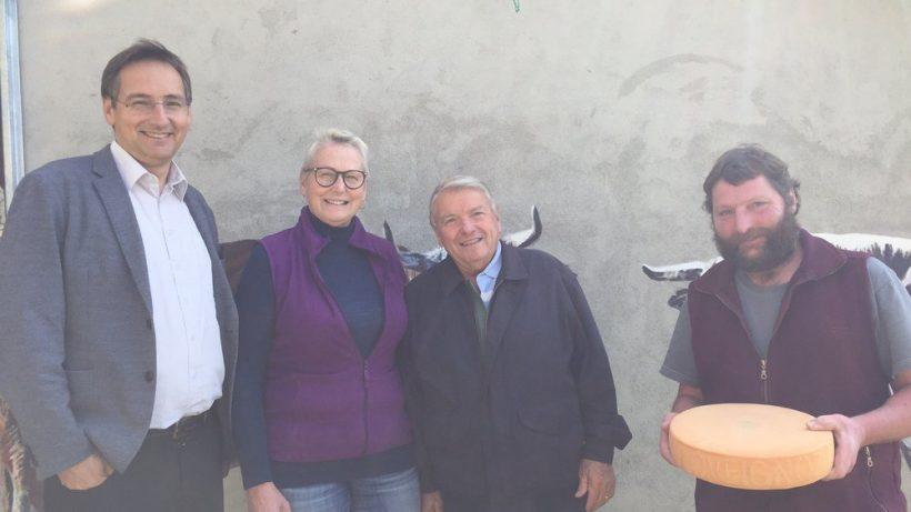 Le Nouvelliste: Loveignoz a réussi le fromage parfait
